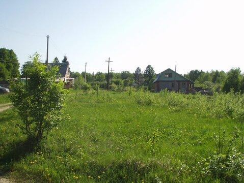 Продается земельный участок, Малое Савватеево, 12 сот - Фото 1
