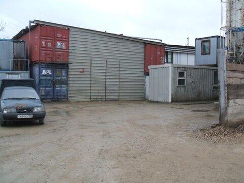 Сдается! Открытая площадка - 2000 кв.м.Закрытая, охраняемая территория - Фото 3