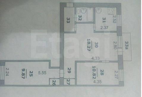 Продам 3-комн. кв. 54 кв.м. Белгород, Мичурина - Фото 1
