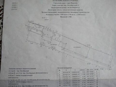 Продажа дома, Воронеж, Октябрьская ул - Фото 2