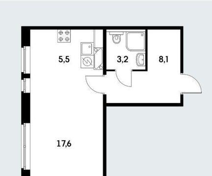 Продам 1-к квартиру, Коммунарка п, улица Александры Монаховой 92к2 - Фото 1