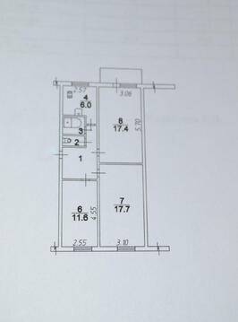3-комнатная площадь Чайковского - Фото 3
