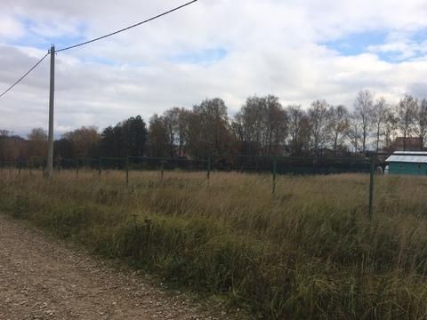 Продается участок 10 соток в старой деревне Шарапово Чеховский район - Фото 3