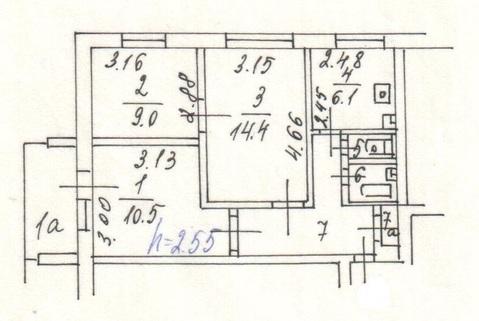 Продам 3-комнатную квартиру не дорого - Фото 1