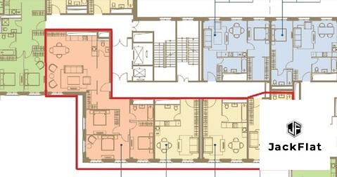 ЖК I'M на Садовом - 240 кв.м, 7 спален, кабинет, кухня-гостиная, 7/7 - Фото 5