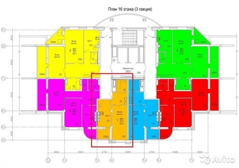 Продажа 1-комнатной квартиры, 43.1 м2, Розы Люксембург, д. 56 - Фото 5