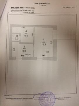 Аренда 40.4 кв.м 1 й этаж первая линия - Фото 4