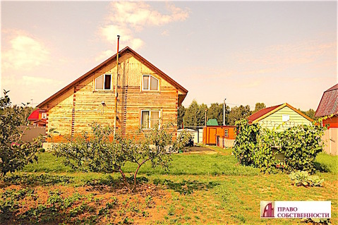 2-этажный дом из бруса на 9 сотках в кп Лукошкино (ж/д ст.Игнатьево) - Фото 2