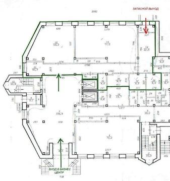 Офисный блок на 1 этаже бц_пл. Станиславского - Фото 4