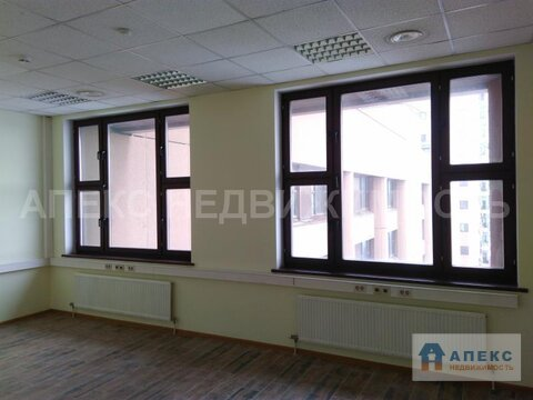 Аренда офиса 600 м2 м. Рязанский проспект в бизнес-центре класса В в . - Фото 3