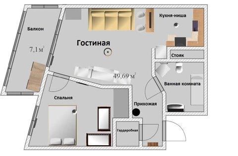 Продам 1-к квартиру, Горки-10, 32 - Фото 5