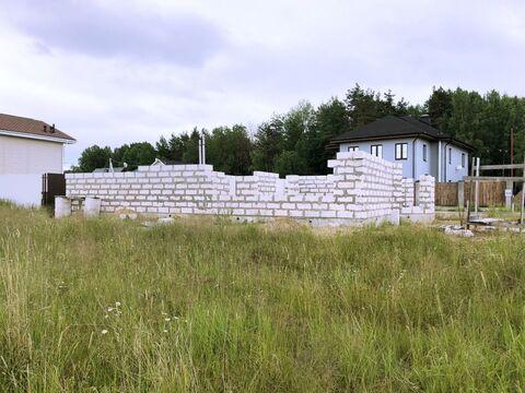 Земельный участок в д. Узигонты 10.55 соток ИЖС с фундаментом, . - Фото 3