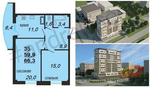Современная квартира в новом жилом комплексе Ставрополя