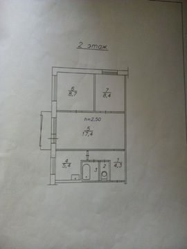 Продам 3 комн. квартиру ул. Крупской, дом 5 - Фото 5