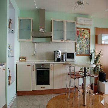 Видовая квартира-студия в современном жилом комплексе в поселке Кореиз - Фото 3