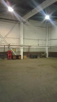 Сдаётся отапливаемое складское помещение 430 м2 - Фото 1