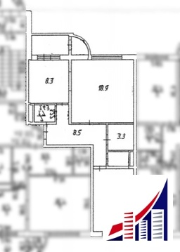 3 х комнатная квартира, ул. Южная, 9 - Фото 4