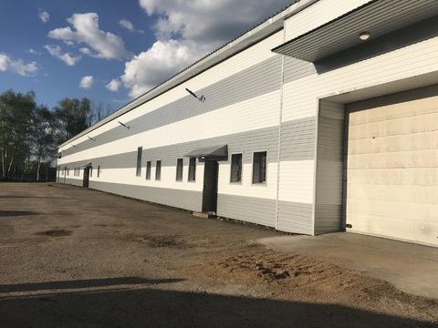 Сдается кирпичное производственно-складское помещение 1200 кв. м. - Фото 4