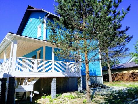 Продается дом 130 кв.м. на уч 8 сот в п Агалатово СНТ Пальмира - Фото 1