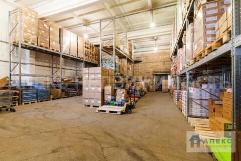 Аренда помещения пл. 772 м2 под склад, м. Беговая в складском . - Фото 1