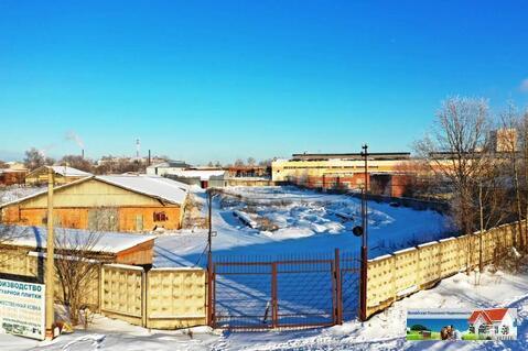 Промышленная земля со складом 2000 кв.м, в г. Можайске, общей площадью - Фото 1