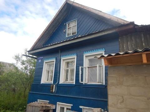 Дом деревянный 3-комнатный в г. Наволоки - Фото 1