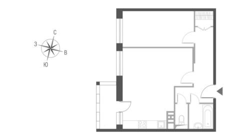 Двухкомнатная Квартира Москва, улица Викторенко, вл.11, САО - Северный . - Фото 1