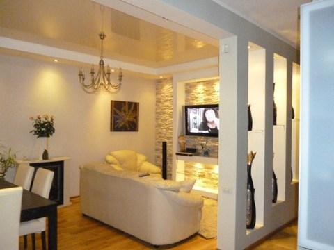 Сдам шикарную 3 комнатную квартиру в центре, Аренда квартир в Ярославле, ID объекта - 319170474 - Фото 1