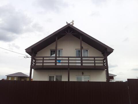 Продается новый дом 174м2 на 10 сотках, д.Малышево - Фото 1