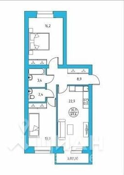 Продажа квартиры, Ухта, Улица Александра Алексеева - Фото 2