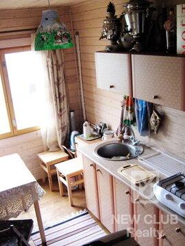 Кубинка. Дом из клееного бруса, гор/хол. вода, душ, ж/д станция - Фото 1