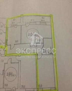 Продам 2-комн. квартиру, 2-й Заречный микрорайон, Солнечный проезд, 7 - Фото 1
