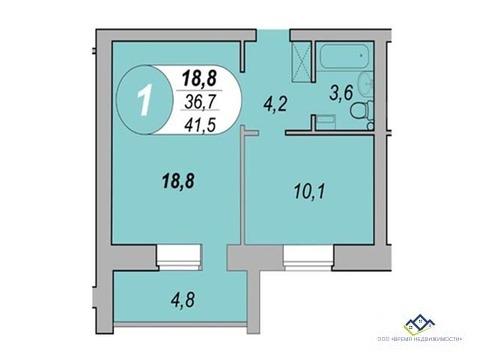 Продам 1-тную квартиру Шаумяна 122, 41кв.м14 эт.Цена 1950т.р - Фото 3