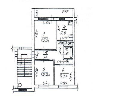 Продам 3-х комнатную квартиру в поселке Кокошкино - Фото 1