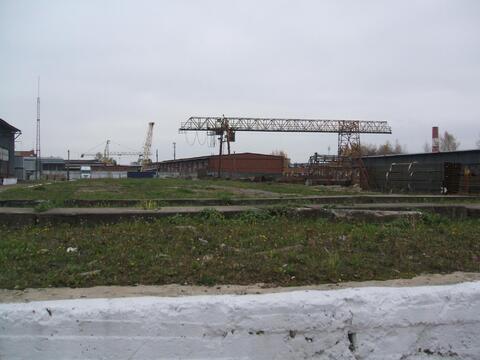 Сдается ! Открытая площадка 5000 кв. м ж/д ветка, Мостовой кран 10 т - Фото 5