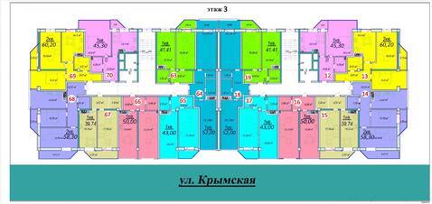 1 к.кв. в новом доме на ул.Крымской - Фото 3
