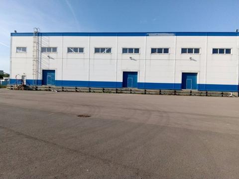 Аренда склада, м. Московская, Ул. Кубинская - Фото 1