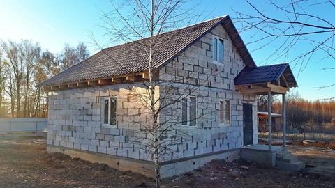 Дом 90в.м. на участке 10 соток, в д.Скрипово, в 3км от п.Заокский - Фото 1