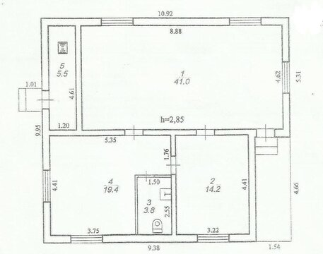 Дом 84м2 в центре деревни Устиново - Фото 2