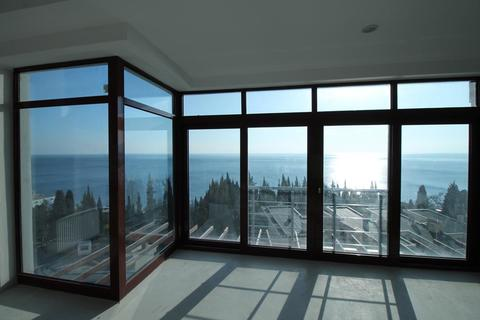 Продам 1-комнатные апартаменты, 70,3 м2, Алушта, Профессорский уголок. - Фото 4