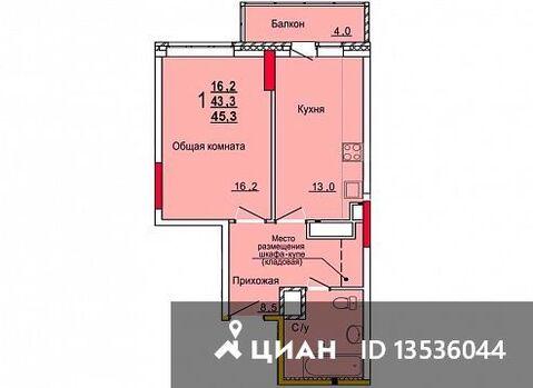Продаю1комнатнуюквартиру, Тула, улица Кауля, 12, Купить квартиру в Туле по недорогой цене, ID объекта - 322797486 - Фото 1