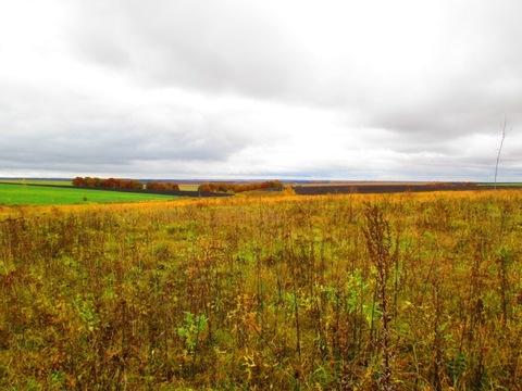 Продам земельный участок для постройки дома,21 сотка, д.Огаревка - Фото 1