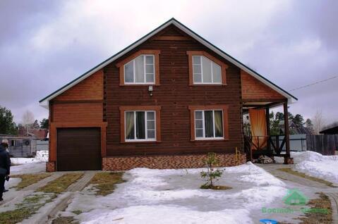 Новый дом в 3 уровня в дер.Мележи - 70 км Щелковское шоссе - Фото 1