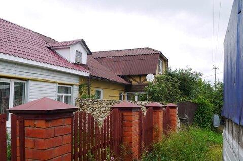 Продается 1/2 часть дома в г. Кашира по ул. Каляева, д. 42. на участке - Фото 1