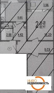 Квартира с отделкой под ключ - Фото 1