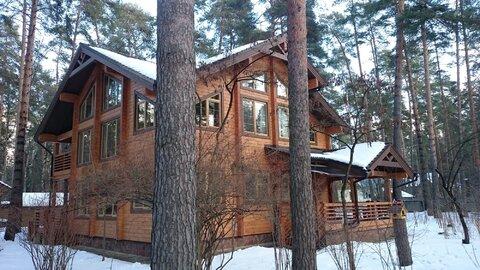 Великолепный новый дом 325 м. из клееного бруса на 23 сотках в Кратово - Фото 1