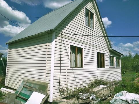 Дачный дом 45 кв.м на участке 7 вблизи деревни Рыжиково - Фото 2