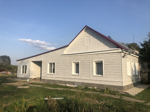Жилой дом с газом, 100 кв.м, 7,5 сот земли, г. Чехов, 45 км от МКАД - Фото 1