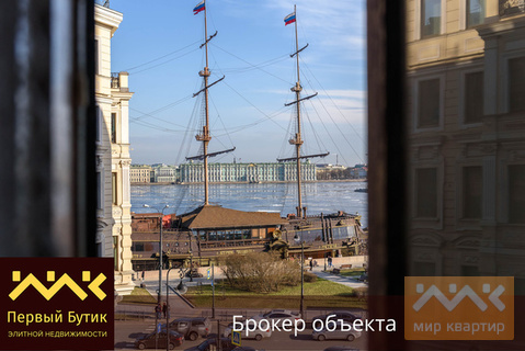Видовая квартира на Мытнинской набережной. - Фото 1