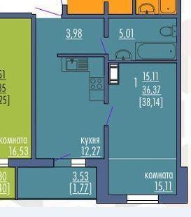 Квартира в Металлургическом районе - Фото 1